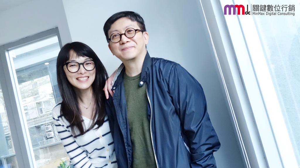 MMdc執行長Ruby與蔡智翔事務所創辦人&創意總監Sean